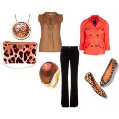 Pink & Brown Leopard Print