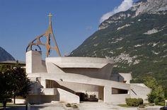 Chiesa dell'Immacolata Concezione Longarone Longarone   Architettura Contemporanea (AC) - Giovanni Michelucci