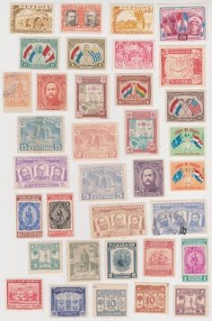 Cancelled Postage Stamps Of Paraguay , http://www.amazon.com/dp/B00CQNCG92/ref=cm_sw_r_pi_dp_6IMJrb16CJAX7