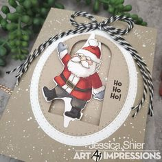 Art Impressions Blog: Santa is Coming to Town | By Jessica Shier