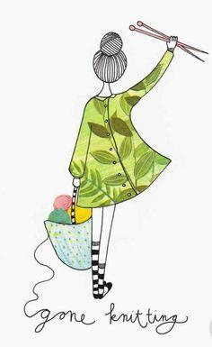 Ideas Knitting Illustration Art For 2019 Ideas Knitting Illustration Art For 2019 Record of Knitting String rotating, weaving. Knitting Quotes, Knitting Blogs, Knitting For Beginners, Knitting Stitches, Knitting Patterns Free, Free Knitting, Baby Knitting, Knitting Humor, Knitting Needles