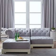 Small Sectionals & Lounge Sofas   PBteen