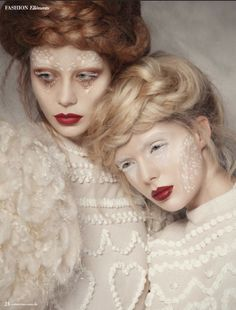 Ethereal editorial. Makeup by #nikkimakeup1