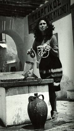 #Mykonos ,1950's.