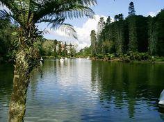 RIO GRANDE DO SUL - Gramado City - Lago Negro (Black Lake).