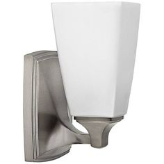 """Hinkley Darby 8 1/4"""" High Brushed Nickel Wall Sconce - #1R575 