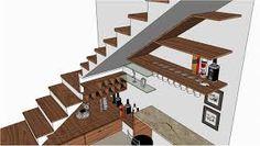 Resultado de imagem para bar embaixo de escada
