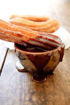 churros... mmmm, yummy! Have a nice day!