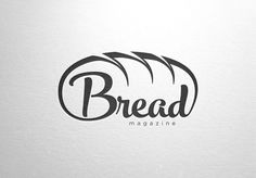 Create a captivating logo for a digital magazine for bread lovers by M/Z