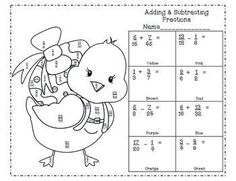 Math Christmas Coloring Pages {Add, Subtract, Multiply