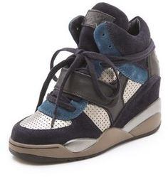 Ash Funky Wedge Sneakers on shopstyle.com