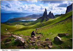 everything-celtic:  Scotland landscape on the Isle of Skye