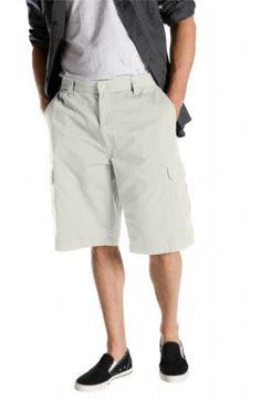 Dickies Mens 13 Inch Loose Fit Cargo Short, Khaki, 36