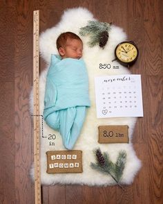 Baby Jacob was born a couple of days after Thanksgiving so his parents decided to theme his shoot around the holiday season with acorns and ferns! So beautiful ❤️ More inspo @bubzwonderland. Via - Jesse and Emily Hart