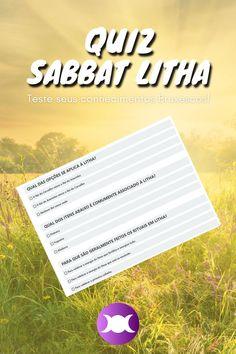 Teste seus conhecimentos de Bruxaria e Wicca neste Quiz sobre o Sabbat Litha, o Solstício de Verão das Bruxas! Beltane, Sabbats, Wicca, Craft, Movie Posters, Large Fire Pit, Summer Solstice, Witch Craft, Quizes