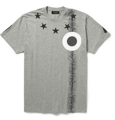 Givenchy Oversized Printed Cotton-Jersey T-Shirt | MR PORTER