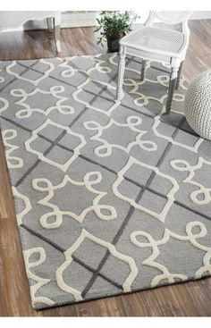rugs usa savanna moroccan trellis ve24 grey rug rugs usa pre black friday sale up to 75 off. Black Bedroom Furniture Sets. Home Design Ideas