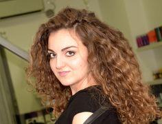 #degrade su #capelli #ricci