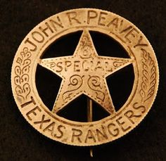 The search for a r e a l Texas Ranger badge is the collecting version of the Agony and the Ecstasy. and mostly agony . Texas Rangers Law Enforcement, Law Enforcement Badges, Tx Rangers, Texas Texans, Old And New, Judges, Wild West, Hunters, Police Badges