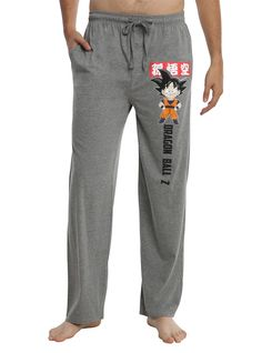 """Hey, even Super Saiyan get sleepy. Relax in some <i>Dragon Ball Z</i> pajama pants after a big battle. A cute little Chibi Goku is here to keep you company.<div><ul><li style=""""list-style-position: inside !important; list-style-type: disc !important"""">55% cotton, 45% polyester</li><li style=""""list-style-position: inside !important; list-style-type: disc !important"""">Wash cold; dry low</li><li style..."""