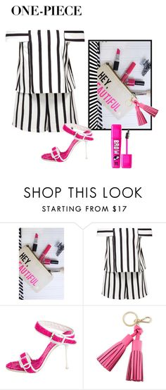 """""""HELLO BEAUTIFUL"""" by glamegirl ❤ liked on Polyvore featuring Topshop, Dsquared2 and Kate Spade"""