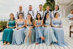 Deborah e Marcel Marcel, Bridesmaid Dresses, Wedding Dresses, Ems, Destination Wedding, Beauty, Fashion, Wedding List, Wedding Website