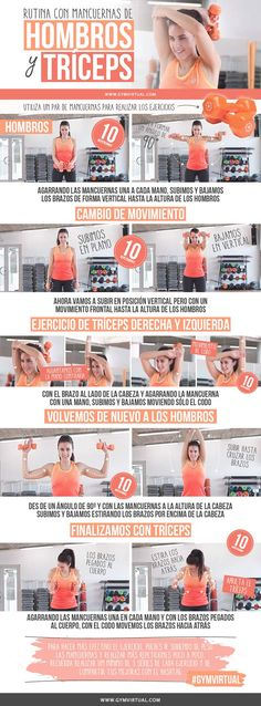 Rutina de tríceps y hombros http://changeyourlife24.info/the-3-week-diet/