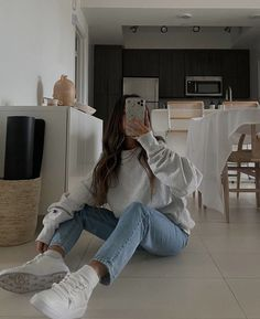 Cute Summer Outfits, Cute Casual Outfits, Simple Outfits, Stylish Outfits, Spring Outfits, Winter Outfits, Look Fashion, Fashion Outfits, Moderne Outfits