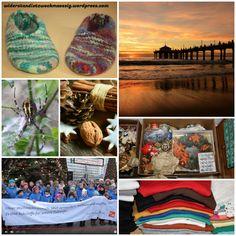 Monatscollage Dezember 2017 - ein Rückblick mit einem kurzen Ausblick Collage, Monat, Gym Bag, Bags, December, Handbags, Collages, Duffle Bags, Taschen