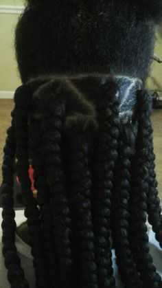 Crochet Box Braids With Rubber Bands : ... braids # my rubber band technique more rubber band box braids