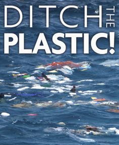 Ditch the plastic! The Surf Lady, Veronica Grey, talks about the growing problem of the Great Pacific Garbage Patch and everyday choices that can make a difference.