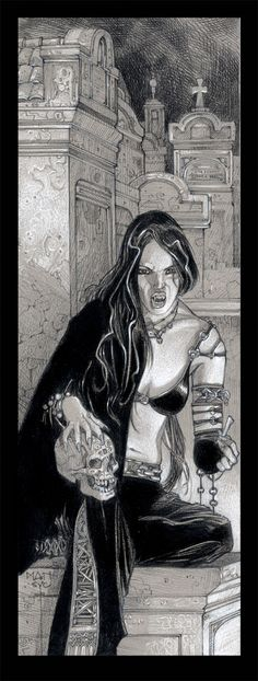 Vampire drawing.1 White Wolf by MANSYC on deviantART