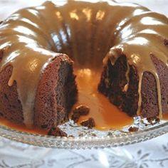 Dessert: Pumpkin Chocolate Dessert Cake