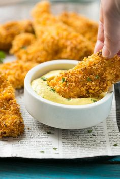 Cornflake Chicken Tenders