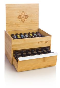 doTERRA Bamboo box (single drawer) https://doterra.myvoffice.com/Application/index.cfm?EnrollerID=2363001