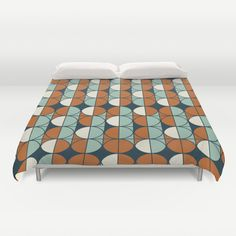 Retro pattern Duvet Cover