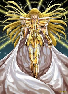 Virgo no Shaka Manga Drawing, Manga Art, Manga Anime, Anime Art, Manga Disney, Virgo, Knights Of The Zodiac, Golden Warriors, Alternative Comics