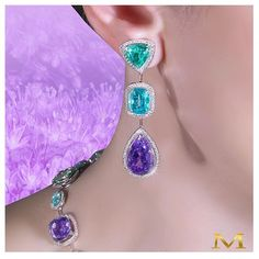 Perfect Paraiba's for hot sunny days... Only from the House of Moussaieff…