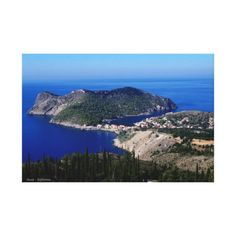 Assos - Kefalonia Gallery Wrapped Canvas