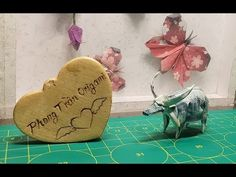 [Tutorial Origami] Con Trâu - Buffalo - YouTube Origami Paper Size, Money Origami, Dollar Bill Origami, Buffalo, The Creator, Place Card Holders, Youtube, Author, Writers