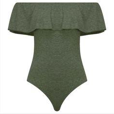 Fuffles Off Shoulder Short Sleeves Short Jumpsuit