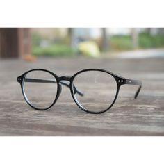 1920s Vintage Classic Eyeglasses Oliver retro 129R88 BLK Fashion eyewear Frames