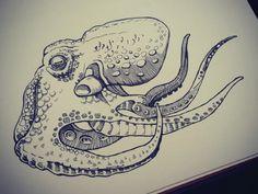Octo Doodle by Virginia Poltrack