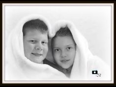 Winter wonderland. Photo of siblings for Christmas. Photography by Josie Shaw