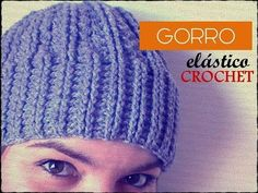 Tutorial GORRO a CROCHET en punto relieve, PASO A PASO - YouTube