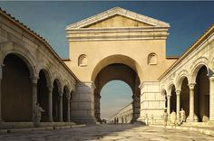 So was the center of Thessaloniki in antiquity. - The Arch of Galerius - Macedonia northern Greece Ancient Rome, Ancient History, Cair Paravel, Thessaloniki, Byzantine, Arch, Real Estate, Mansions, House Styles