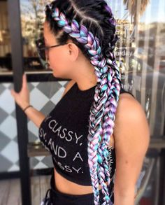 Dope @xtinamilani - https://community.blackhairinformation.com/hairstyle-gallery/braids-twists/dope-xtinamilani/