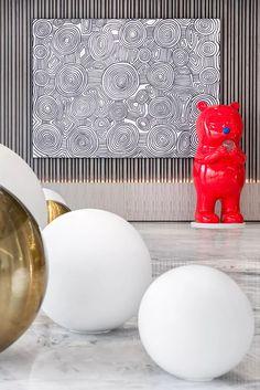 西安铂樾府售楼处——当代生活美学,为存在而设计!  TRENDZONE & DESIO DESIGN-建e室内设计网-设计案例 Wall Sculptures, Sculpture Art, Installation Art, Colorful Interiors, Book Design, Paper Art, Abstract Art, Art Gallery, Fine Art