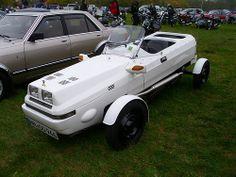1982 Oosterhof Eigenbau Homebuilt roadster, donor cars: Citroen 2CV & Vauxhall Visa.