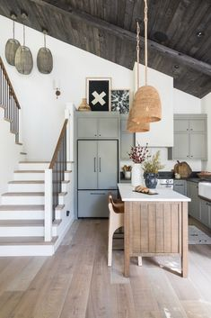 Interior Decor Stores Home Tour: SoCal Lake Cabin Remodeled for Multi-Generational Stays - Sunset Magazine.Interior Decor Stores Home Tour: SoCal Lake Cabin Remodeled for Multi-Generational Stays - Sunset Magazine Home Renovation, Home Remodeling, Lakeside Cabin, Sweet Home, Lake Cabins, Lake Cottage, Waterfront Cottage, Cabin Homes, Lake Homes